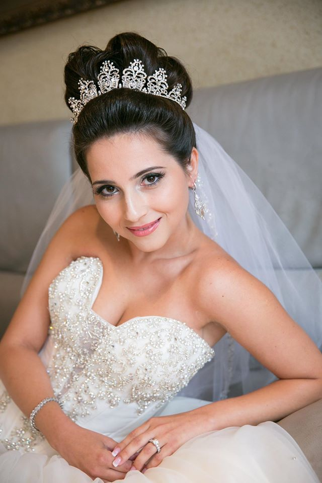 Yanna- custom crystal tiara- Bridal Styles Boutique