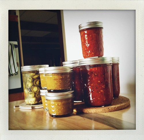 Adventures in home canning