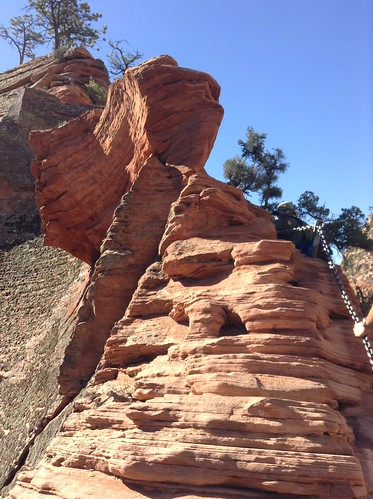 Angel's Landing formation