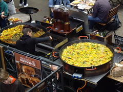 buffet(0.0), meal(1.0), paella(1.0), market(1.0), street food(1.0), food(1.0), dish(1.0), cuisine(1.0),