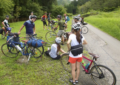 140830 RIDEALIVE Camp & Ride in Mikawa@県道362号線