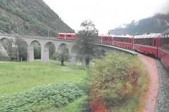 Glacier a Berninou, jedem vlétě za zimou (2)