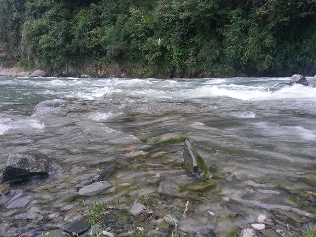 River run-off in Barot
