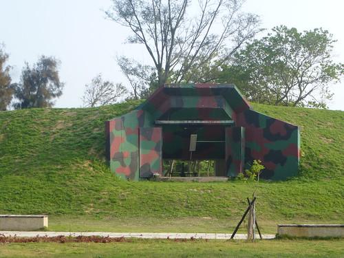 Taiwan-Kinmen Nord-ouest-Forteresse de Cihu (2)