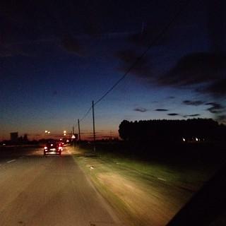 La Romea al tramonto ig_forlicesena #igersfc #viaggioinromagna #giriingiro #ig_emiliaromagna #igersemiliaromagna