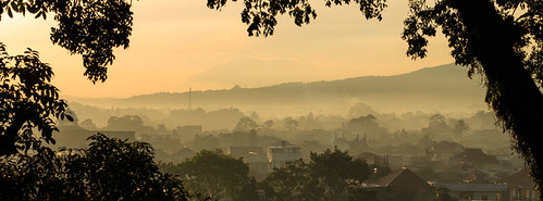 Foggy Morning in Bukittinggi