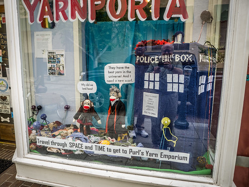 Yarn Doctor Who