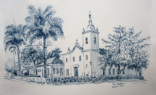 auction sketch, Paraty