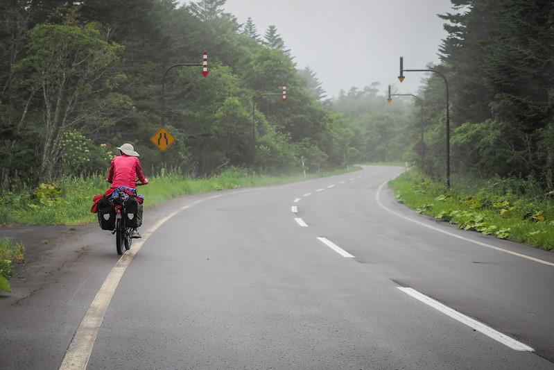 On route 123 approaching Akkeshi, Hokkaido, Japan