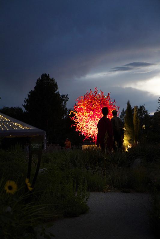 Chihuly at Denver Botanic Gardens