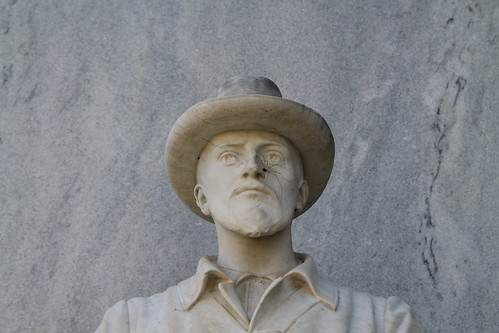 Confederate Soldier with Spider (Pickens County, Alabama Courthouse)