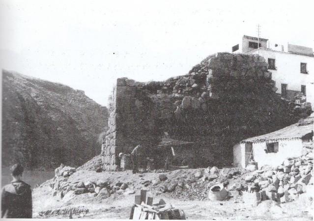 Torre del Hierro justo antes de ser restaurada Foto Porres.