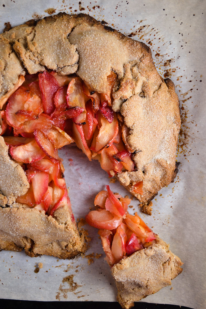 Whole Wheat Apple Galette | Things I Made Today