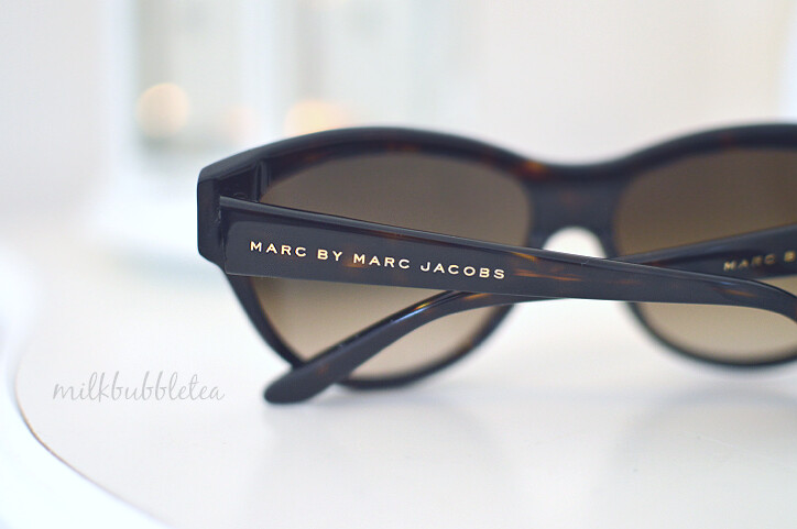 sunglasses marc jacobs milk bubble tea