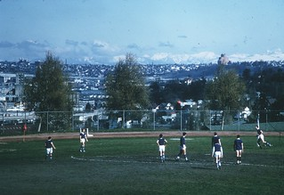 Soccer game, 1967