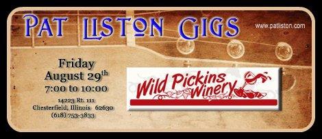 Pat Liston 8-29-14