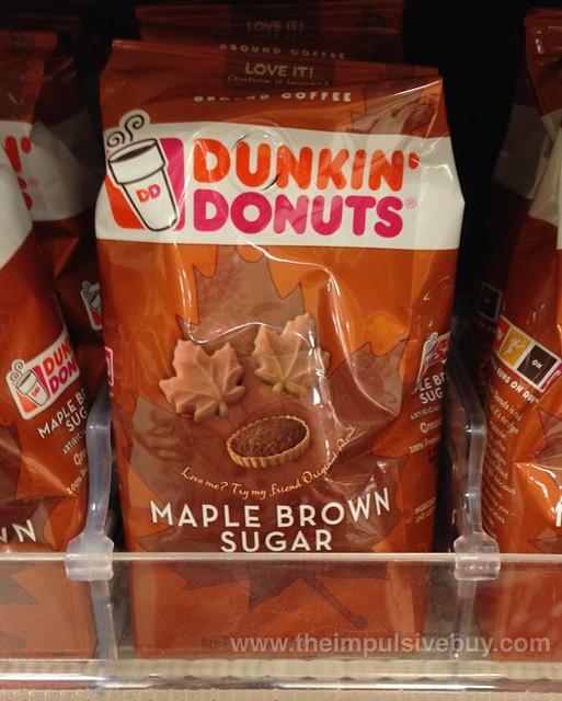 Dunkin' Donuts Maple Brown Sugar Ground Coffee