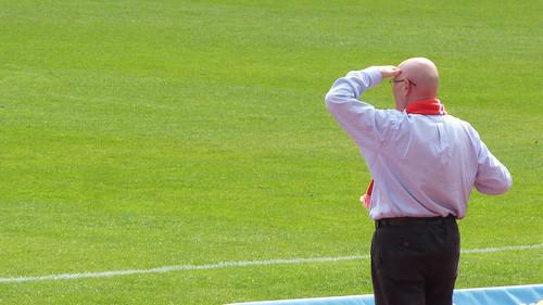 Klaus Ulonska, drei Punkte im Blick