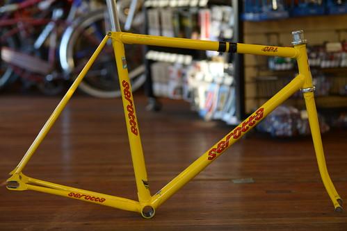 Serotta CPI Custom Track Bike - Autographed by Ben Serotta