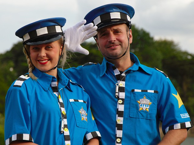 Alton Towers Traffic Police