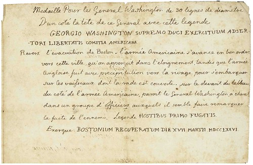 Jefferson Washington Before Boston medal text