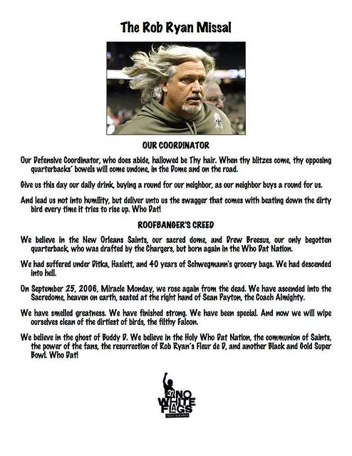 Rob Ryan Missal