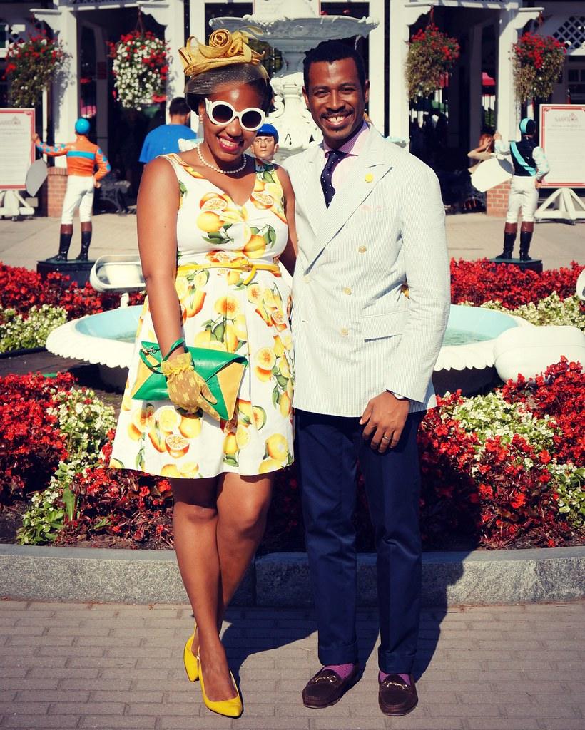 what to wear at race track