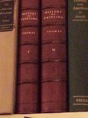 History of Printing in America White House copy