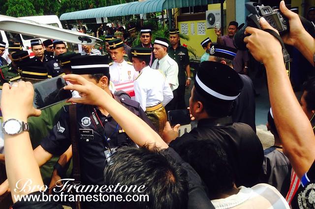 Sekitar Majlis Pengkebumian Jenazah Mangsa MH17