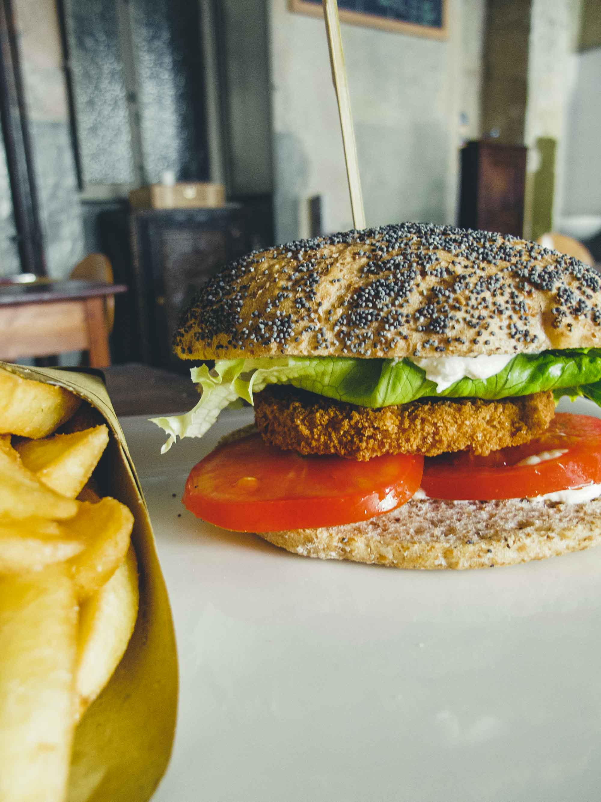 Soul Kitchen Turin Vegan Chicken Burger