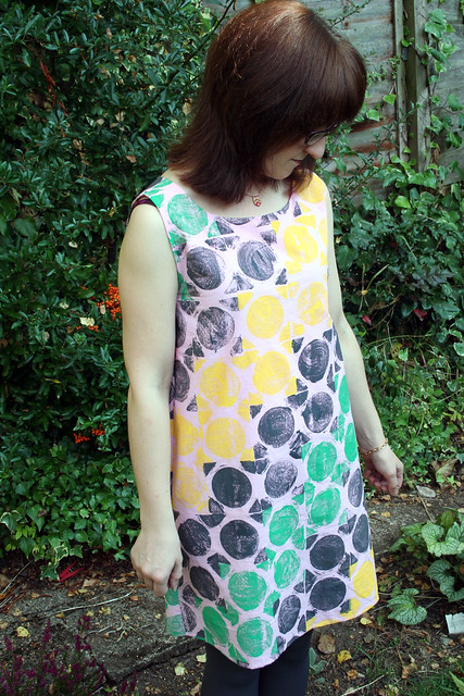 Hand Printed Fabric Swap Lou Lou Dress
