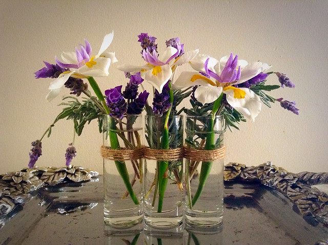 DIY on a budget flower vase