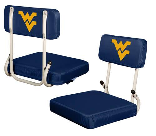 West Virginia Mountaineers Hard Back Stadium Seat