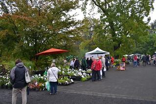 Pflanzenmarkt Botanischer Garten Leipzig - Herbst 2014