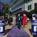 Renzi in visita alla sede di Yahoo! (22/09/2014)