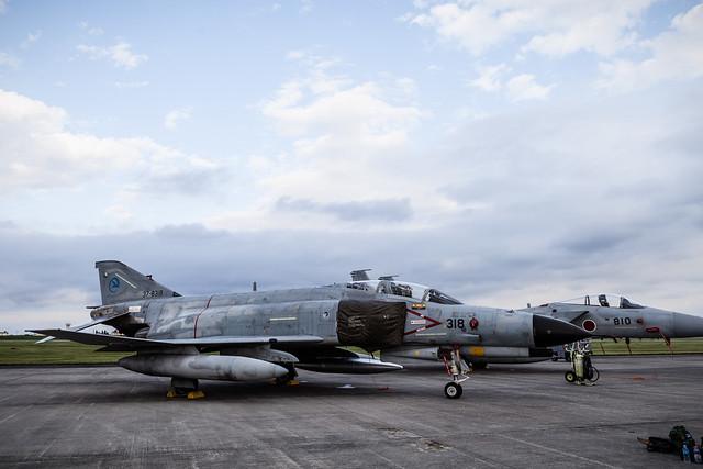 横田基地友好祭2014 F-4EJ