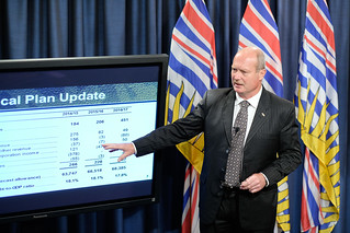 BC's budget remains balanced in spite of extra costs