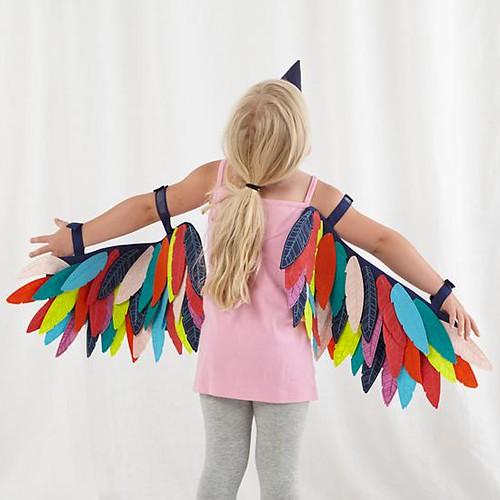 traje indio plumas