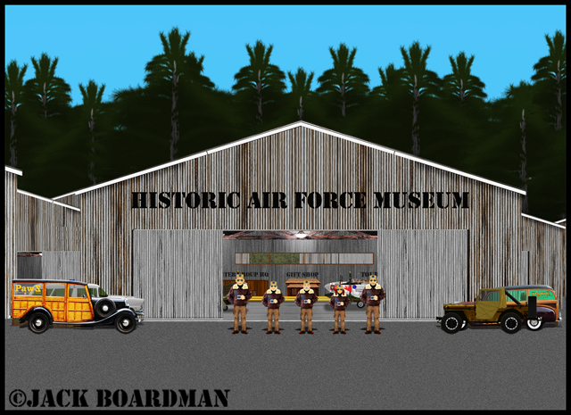 The rest of the pilots arrived at the airfield