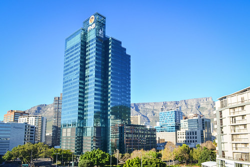 FNB building on Buitengracht st, Cape Town