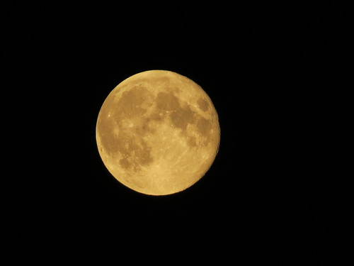 Supermoon, 9th September 2014