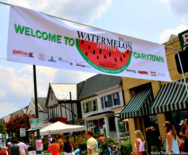 31st Annual Carytown Watermelon Festival,  Richmond, Virginia