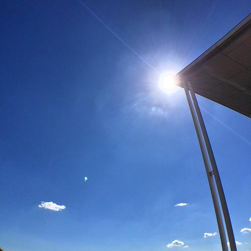 空 #sky. #lensflare #wideangle #olloclip