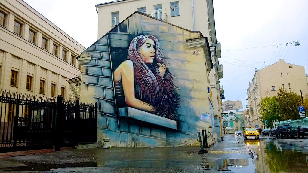 Alice Pasquini - Moscow (RU)