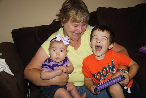 Grandma Visit- Aug 2014