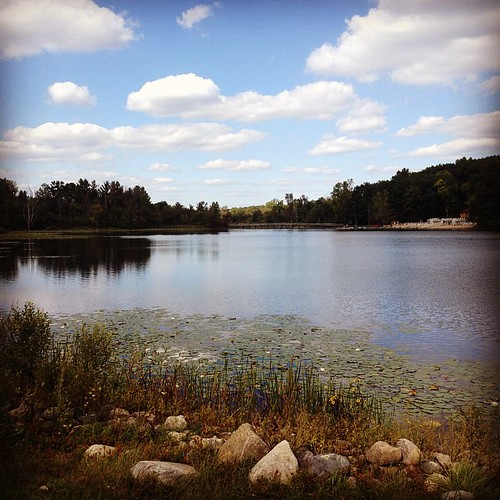 Thankful today for a lovely walk around the lake at Michindoh Conference Center. #thankfulphotos