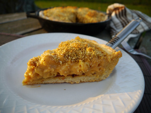 Mac & Cheese Monday - Deep Dish Mac & Cheese Pizza (0014)