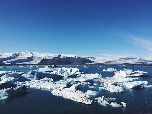 Jokulsarlon - Glacier lagoon, South Iceland