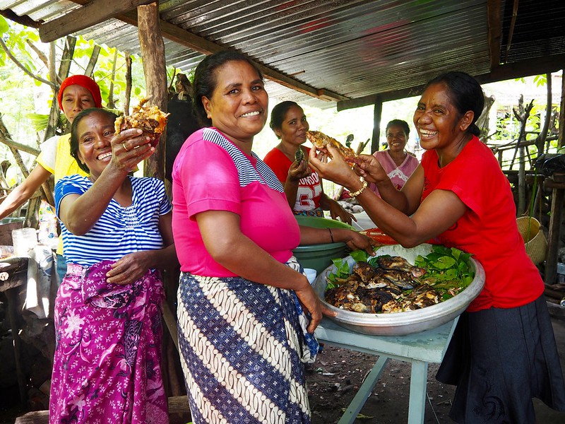 Margarida da Costa, Atauro Island, Timor-Leste. Kate Bevitt, 2016.