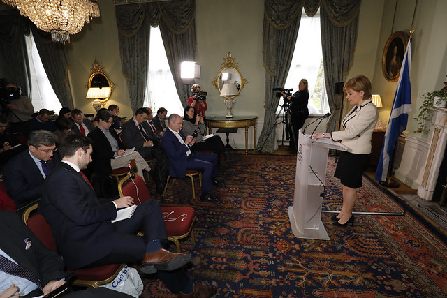 First Minister - Bute House press conference